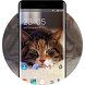 Theme for Spice Metal Cute Cat Wallpaper by DIY Theme Store
