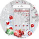 Silver Christmas Wallpaper by Cool Theme Love