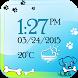 Puppy Digital Weather Clock by The World of Digital Clocks