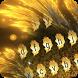 Lucky golden leaves keyboard