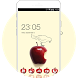 Theme for galaxy j2 ace with red apple screensaver by Amazed Theme designer