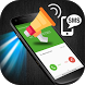 Caller name announcer plus flash on Call and SMS by DHEW