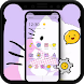 Custom Norch Ears Kitty Theme for iPhone X by Beauty Stylish Theme