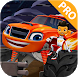 Hill Blaze Monster Machines Racing by Fahreza.Dev