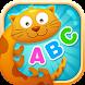 English alphabet game for kids by bonbongame.com
