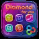Diamond GO Launcher Theme by Freedom Design