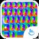 Keyboard Theme Shading Rainbow