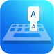Easy Type Indonesian Keyboard by Sky Blue Theme Keyboard