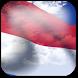 3D Monaco Flag by App4Joy