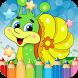 Snail Drawing Coloring Book by KEM DEV GAME
