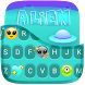 Alien Planet Keyboard Theme by Golden Studio