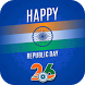 Republic Day DP Maker : 26th January by appoquinn