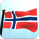 Norway Flag 3D Live Wallpaper by I Like My Country - Flag