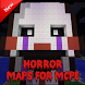 Horror maps for minecraft pe by Cool MineApps