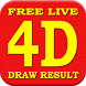 Free Live 4D Draw Result by MobyApps Nation