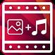 تبدیل عکس و موزیک به فیلم by MyBlueApp