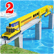Bridge Construction on River Road: Unique Game 2 by Zact Studio Games