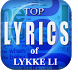 Top Lyrics of Lykke Li