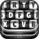 Black and White Keyboard by Customize My Phone