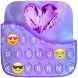 Crystal Keyboard Theme by Golden Studio