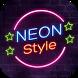 Neon Style Keyboard Theme by Echo Keyboard Theme