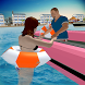 Lifeguard Beach Rescue Duty: Boat Rescue Team by 4wheelgames