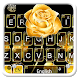 Gold Rose Keyboard Theme by 7star princess