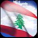3D Lebanon Flag by App4Joy