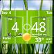 Football Digital Weather Clock by Factory Widgets