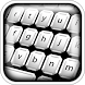 Black & White Keyboard Themes by Abrassi Design Apps