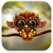 Autumn Little Owl Wallpaper by Live Wallpapers 3D