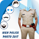 Man Mustache Police Photo Suit : Police Photo Suit by Men Hair Style Photo