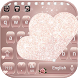 Rose Gold Diamond Love Theme for Keyboard by NeoStorm We Heart it Studio