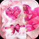 Pink Diamond Theme Heart Stone by Wonderful DIY Studio