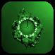 Green Clock by Classic Clock