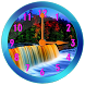 Waterfall Clock Widget by Lux Live Wallpapers