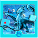 Dragon Ice Keyboard Theme by Apple Theme