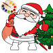 Christmas Coloring Book Pages: Santa Coloring Game by My Bucket List