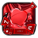 Red Cherry Blush Apple Keyboard Theme by Fashion theme for Android-2018 keyboard