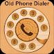 Old Phone Dialer : Vintage Call Dialer Keyboard