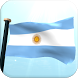 Argentina Flag 3D Wallpaper by I Like My Country - Flag