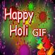 Happy Holi GIF Status by iKrish Labs