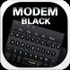 Modem Black Keyboard by Keyboard Design Paradise