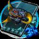 Dragon Head 3D Launcher Theme by 3D Themes World