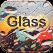 Glass Rain Theme rain drop by Wonderful DIY Studio