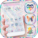 Shiny Iridescent Zebra Theme by ChickenAnt Themes