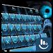 Blue Dragon Glass Keyboard Theme by Sexy Free Emoji Keyboard Theme