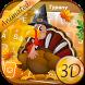 Thanksgiving Turkey Theme&Emoji Keyboard by Keyboard Fantasy