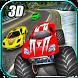Crazy Car vs Monster Racing 3D by Tech 3D Games Studios