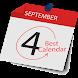 2018 Calendar by Manishdev